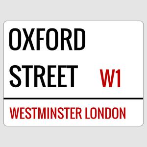 28cm x 14.5cm  FLEET STREET  METAL PLAQUE SIGN LONDON ENGLAND UNITED KINGDOM