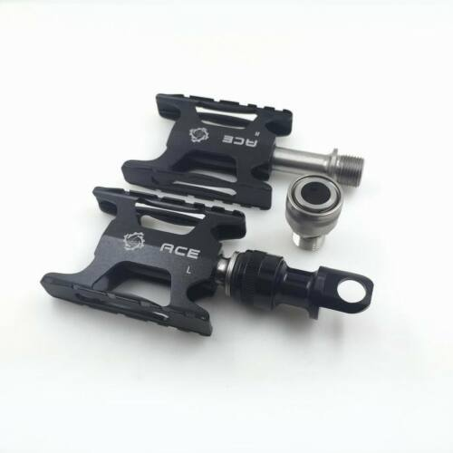 ACE Mini Titanium Lightweight Quick Release Pedals for Brompton Bicycle mks
