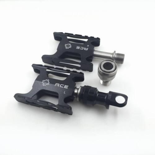 ACE Mini Titanium Lightweight Quick Release Pedals for Brompton Bicycle mks