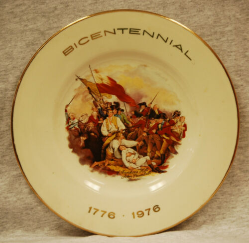 """Battle of Bunker Hill"" Bicentennial Collectors Plate"