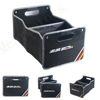 1pcs Weaving Clot Embroidery Car Trunk Lid Inside Containing Box For Mugen Power