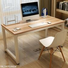 55 Inch G Plus Computer Table Study Desk Office Furniture Oak Color Workstation