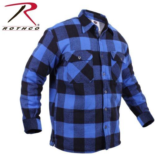Buffalo H Noire Flanelle w Rothco 3739 Et En Doublé Chemise Bleue Sherpa qRx44A