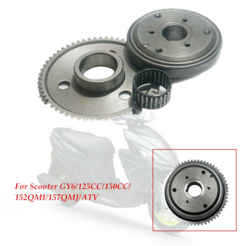 Motorcycle Scooter Moped For Metal Starter Clutch GY6//125CC//150CC//152QMI//157QMJ