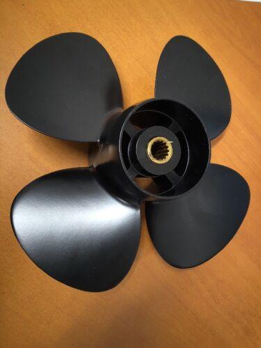 "Tohatsu 15HP 20HP High Thrust 4-Blade Outboard Propeller 7/"" Pitch 3Z0B64514-3"