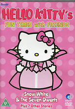 HELLO KITTY'S FUN TIMES WITH FRIENDS DVD - SNOW WHITE & THE SEVEN DWARFS  (KIDS)