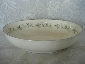 Vintage NORITAKE WESTON Daisy Pattern #7568 Oval Vegetable Serving Bowl