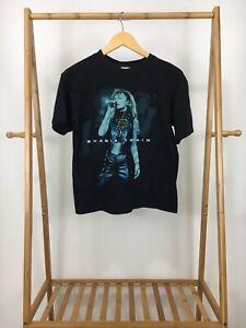 VTG-1999-Four-Champ-Boy-039-s-Shania-Twain-Short-Sleeve-T-Shirt-Size-YOUTH-XL