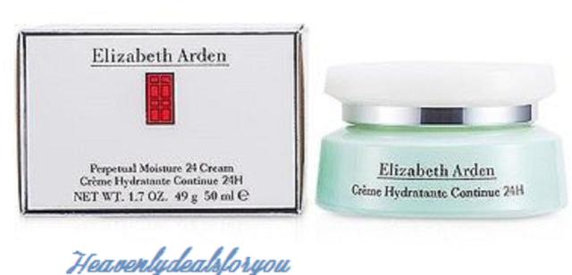 Elizabeth Arden Perpetual Moisture 24 Cream, 1.7-Ounce Box cosrx centella blemish cream, 1.0 ounce