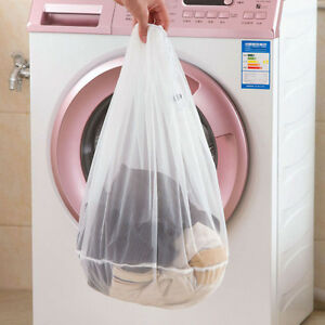 Hot Laundry Bag Drawstring Washing Mesh Net Clothes