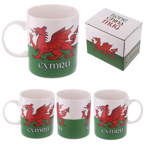 Collectable-New-Bone-China-Mug-Wales-Welsh-Dragon