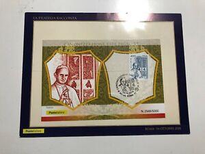 2018-Cartolina-Filatelica-Canonizzazione-Papa-Paolo-VI-Edizione-Limitata-di-5000