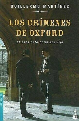 Crimenes De Oxford von Martinez, Guillermo