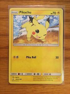 Pokemon-SM-ungebrochene-Anleihen-Pikachu-54-214-gemeinsame-BRANDNEU-mint