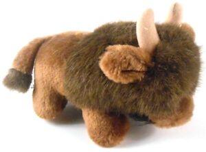 Russ-Cody-Buffalo-the-Bison-Stuffed-Animal-Plush-Brown-8-Inch