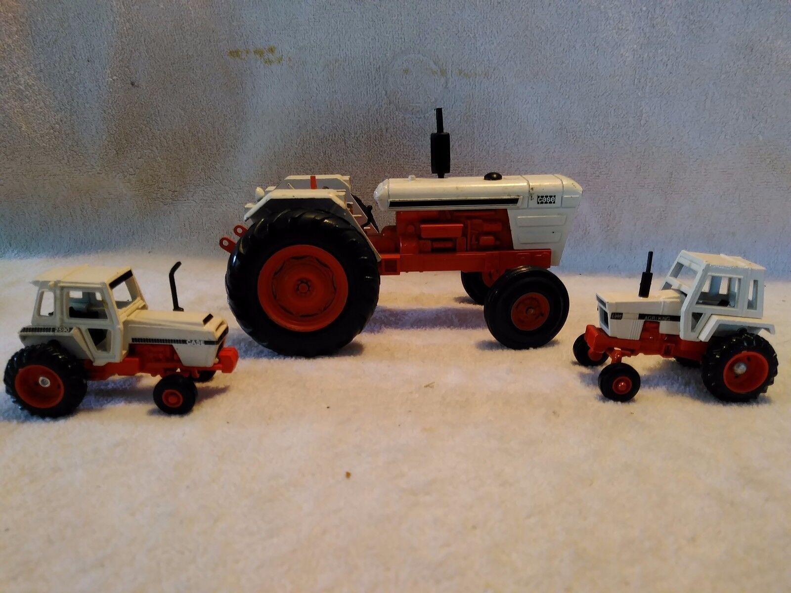 3 Case tracteur CASE agro-King, Case 2590, et CASE échelle 1 25 NZG AG tracteur