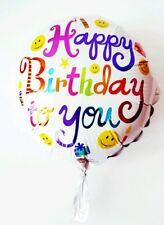 "Emoji Balloon 17/"" Foil Mylar Smiley Face Birthday Party Supplies Decoration Prop"