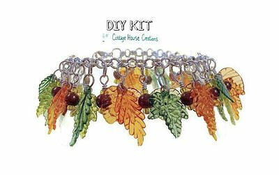 Falling Leaves ~ Autumn Cha-Cha Bracelet Making Kit with Photo Instructions