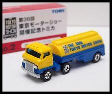 TOMICA TOKYO MOTOR SHOW 36TH NO.2 HINO SEMI-TRAILER TRANSPORT-TANK TOMY 11