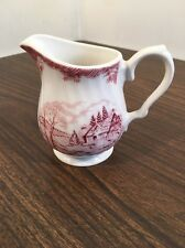 Churchill The Brook in Pink Rose Creamer Made in England China