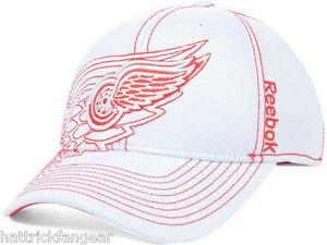 best website 8cfdd 33ea1 Image is loading Detroit-Red-Wings-Reebok-NHL-Pro-Draft-Flex-