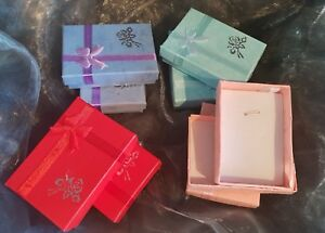 Details About Pack Of 6 Small Pendant Ring Gift Boxes
