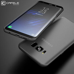 cafele for samsung galaxy s8 plus case matte slim protect skin ultra