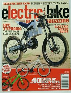 Image Is Loading Electric Bike Action Magazine Hpc Typhoon Tests