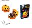 miniatura 15 - Puzzle 3D Natale fai da te casa modello assemblaggio carta Toy Cartoon Home Puzzle UK