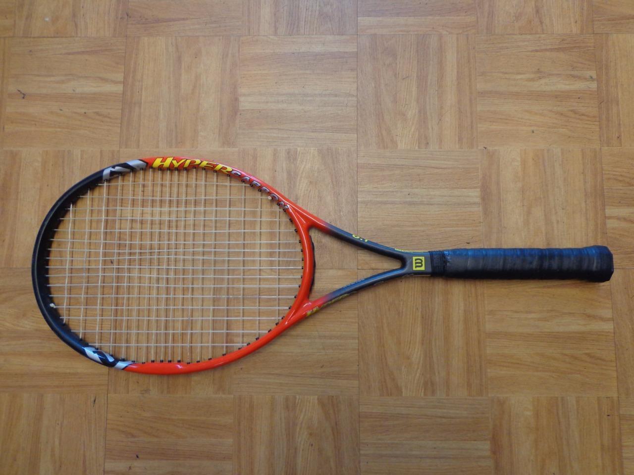 Wilson Hyper Pro Staff 6.1 midplus 95 16x18 motif 4 3 8 grip raquette de tennis
