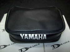 Borsello portattrezzi nero tool carriers artigianale Yamaha XT600  2kf