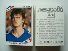 1986 Panini MEXICO 86 WM Fifa World Cup Football Cards Stickers CHOOSE LIST