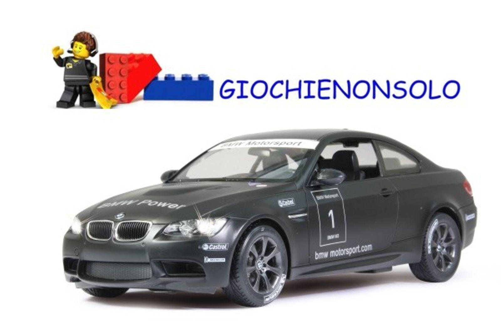 JAMARA 403071 - BMW M3 M3 M3 Sport nero opaco 1 14 44e664