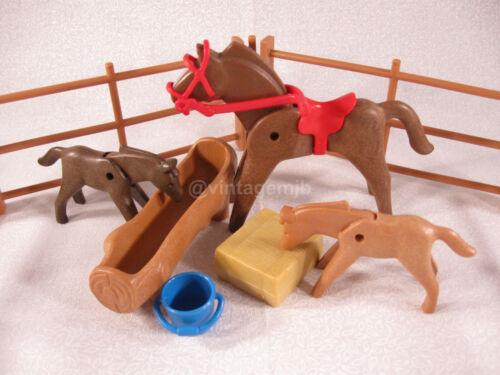 Playmobil Vintage Filhotes 3005 Gangorra 3308 Corral 3856 Babá 3593-escolha 1