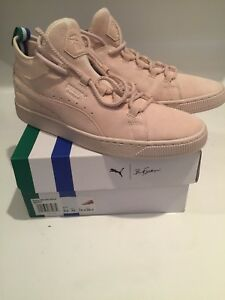 cheap for discount 3db89 37241 Details about Puma x Big Sean Shell-Shell Suede Mid Sneakers Size 10.5  Authentic