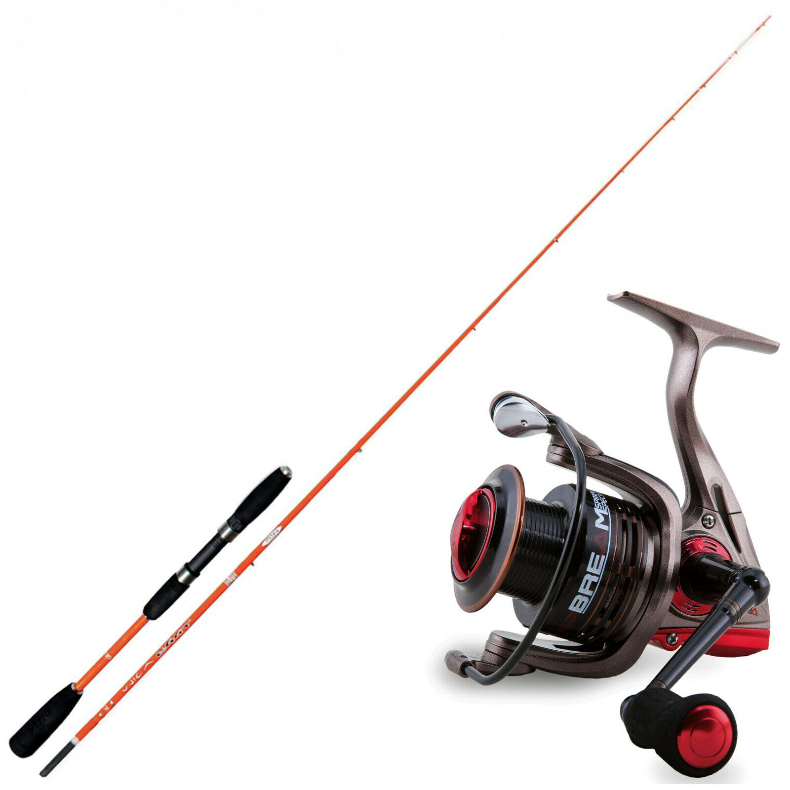 KP3701 Kit Pesca Eging Canna Eggy Unica 180 + Mulinello Rapid Bream 3000 RNG