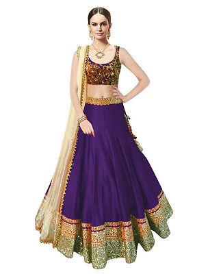 Top Selling Beauty Purple New Designer Lehenga choli for Girls & Women.