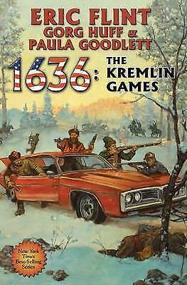 1 of 1 - 1636: The Kremlin Games by Eric Flint, Gorg Huff H/B 2012 First Ed. Like New