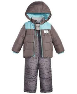 63b854968 CARTER'S® Boys' 5 Gray Colorblock Animal Print 2-Pc. Jacket ...
