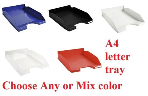 Exacompta A4 Letter Tray Paper Tray Stackable Letter Tray Office Desk Organiser