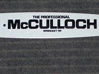 Oldstock 12 Mcculloch Bar & Chain For Mac Cat Mini Mac 3200 3210 & More