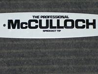 16 Mcculloch Bar & Chain For Mac Cat Mini Mac 3214 3216 & More