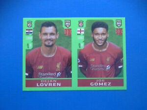 Figurine-Panini-Fifa-365-2019-20-2020-n-29-Lovren-Gomez-Liverpool