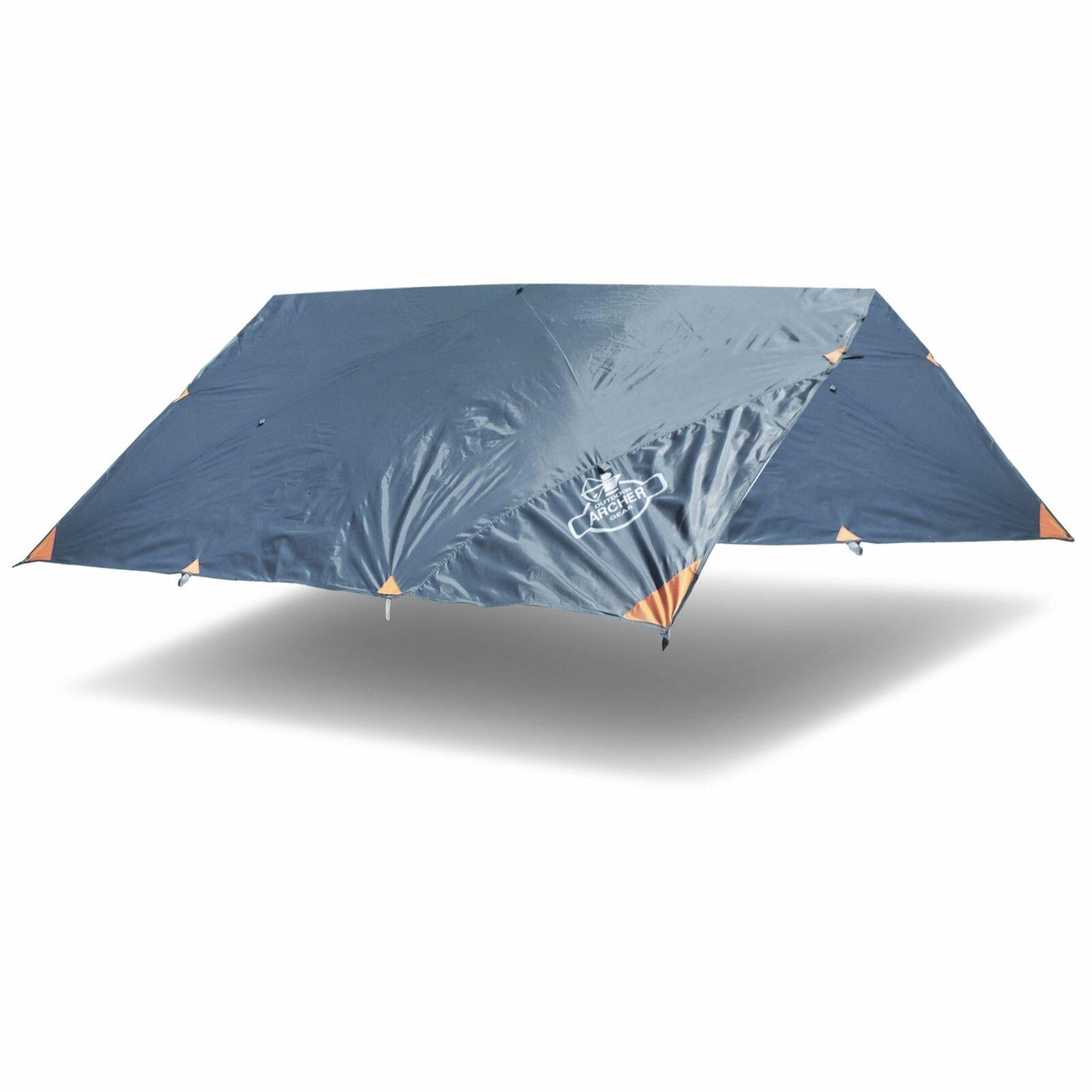 Archer Outdoor Gear All-Weather Sturdy Waterproof Rain & Fly Camping Tarp