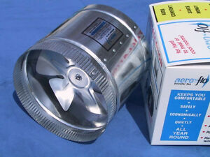 "10"" Aero Flo 650 HIGH CFMs inline Duct Air Booster Fan"