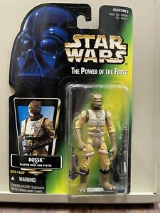 1997 Action Figure Kenner Star Wars Power of The Force Bossk