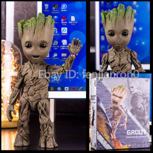 Guardians of the Galaxy Baby Groot Life-Size HT LMS005 26CM Action Figure NIB 09
