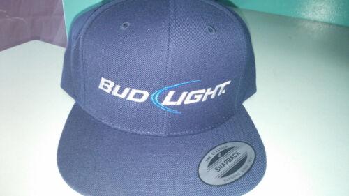 BRAND NEW Multiple Colors! Bud Light Flexfit Hat Old Logo New Logo Throwback