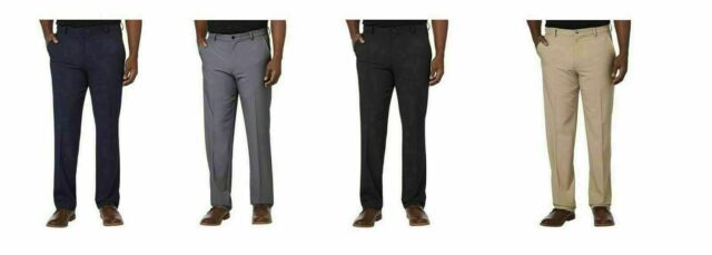 Black 34x36 Greg Norman Signature Series Men/'s Ultimate Travel Dress Pants