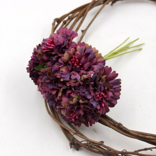 6pcs Silk Dendranthema Artificial Flower For Wedding Party Home Chrysanthemum